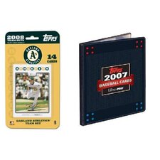MLB 2008 Trading Card Set - Oakland Athletics