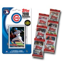 MLB 2010 Team Set with Packs Trading Cards - Chicago Cubs