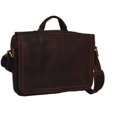 Distressed Porthole Briefcase