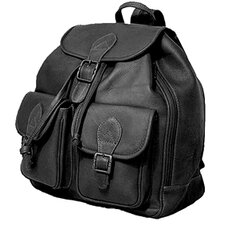 <strong>David King</strong> Flap Top Double Front Pocket Sling Bag