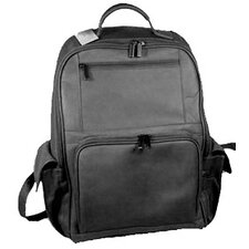 Large Front Zip Laptop Backpack