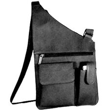 <strong>David King</strong> Top Zip Opening Cross Body Bag
