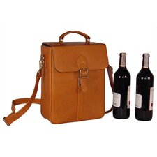 <strong>David King</strong> Structured Double Wine Bottle Carrier