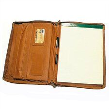 "9.5"" x 13"" Zippered Writing Pad"