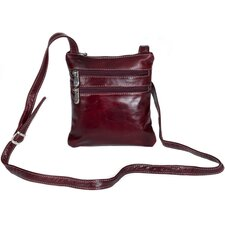 <strong>David King</strong> Florentine 3 Zip Cross-Body Bag