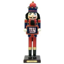 NFL Drummer Nutcracker - New York Giants (Set of 3)