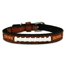 NFL Classic Football Dog Collar