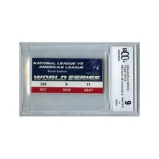 MLB 2004 World Series Game 4 Ticket Stub Graded BCCG 9 - Boston Red Sox