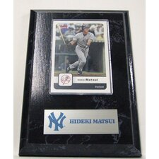 Sports Images Card Plaque MLB PLQBBNYYHM Card  - New York Yankees Memorabilia Plaque