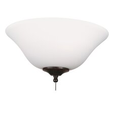 White Frost Ceiling Fan Glass Bowl Shade