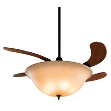 "43"" Air Shadow 4 Blade Ceiling Fan"