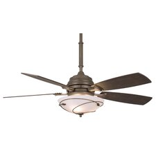"54"" Hubbardton Forge 5 Blade Ceiling Fan with Remote"