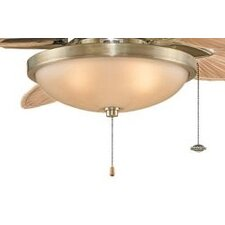 One Light Bowl Ceiling Fan Light Kit