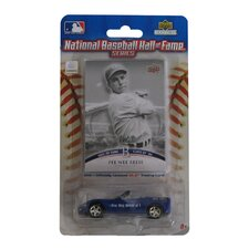 MLB 2008 Chevy Corvette with HOF Trading Card - Pee Wee Reese - Brooklyn Dodgers