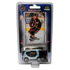 NHL 2007 / 8 Zamboni Machines with Brian Rolston Card - Minnesota Wild