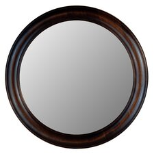 True Glossy Black Framed Wall Mirror