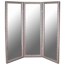 Hitchcock Butterfield Premium Mirrored Room Divider