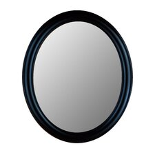 <strong>Hitchcock Butterfield Company</strong> Premier Series Oval Mirror in True Black