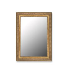 Milano Golden Classic Framed Wall Mirror