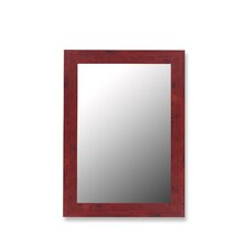 Barn Red Framed Wall Mirror