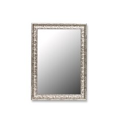 <strong>Hitchcock Butterfield Company</strong> Mirror in Antique Mayan Silver