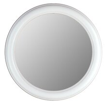 <strong>Hitchcock Butterfield Company</strong> Round Mirror in Floral White
