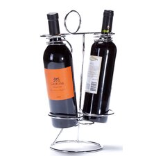 Veronica 2 Bottle Tabletop Wine Rack