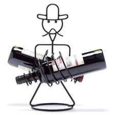 Rodeo 2 Bottle Tabletop Wine Rack