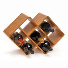 <strong>Oenophilia</strong> Greenophile 8 Bottle Tabletop Wine Rack
