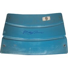 Mickey Rivers Autographed Yankee Stadium Game Used Seatback