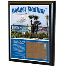 "MLB 8"" x 10"" Game Used Dirt Plaque"