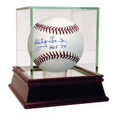 MLB Whitey Ford Autographed Baseball with 'HOF 74' Inscription