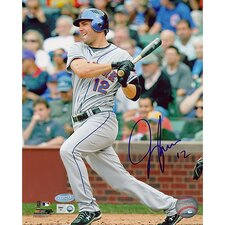 "Jeff Francoeur Hit against The Chicago Cubs 8"" Autographed Photograph"