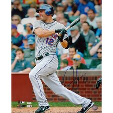 "Jeff Francoeur Hit against The Chicago Cubs 16"" Autographed Photograph"
