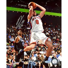 Danilo Gallinari Jump Shot in Mid Air Versus Magic Autographed Photograph