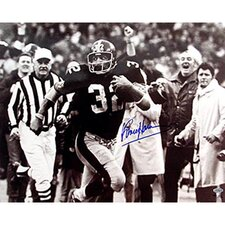 Franco Harris Autographed Immaculate Reception Photograph