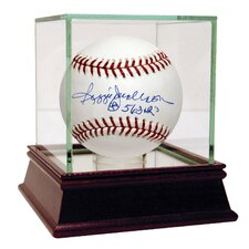 "MLB Reggie Jackson Baseball with ""563 HRS"" Inscription (MLB Auth)"