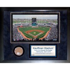 Kauffman Stadium Game Used Mini Dirt Collage Photograph