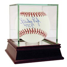 "MLB Sparky Lyle ""77 Cy"" Autographed Baseball with Authenticity"