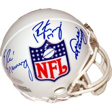 NFL Archie, Eli and Peyton Logo Mini Helmet