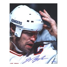 Mark Messier Blood Autographed