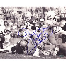 Joe Morris 1979 Run Vs. Navy Autographed