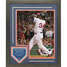David Ortiz 2004 ALDS Walk Off Legendary Moments Framed Collage