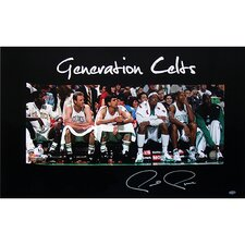 NBA Paul Pierce Generation Celtics Photograph