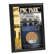 PNC Park Game Used Dirt Plaque