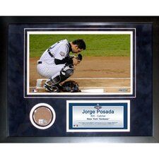 Jorge Posada Mini Dirt Collage