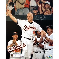 Cal Ripken Jr. 2632 Vertical with Text Overlay Photograph