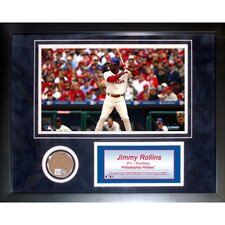 MLB Jimmy Rollins Mini Dirt Collage
