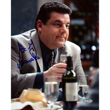 Steve Schirripa At Dinner Table Photograph