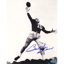 Bart Starr Alabama B and W Autographed